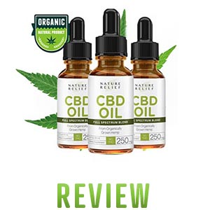 Nature Relief CBD Hemp Oil